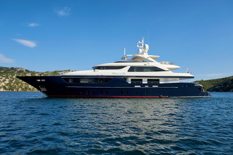 superyachts and mega yachts