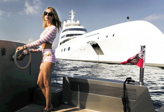 gigantic and classy yachts