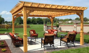 Place the pergolas by taking a lot of features and options into consideration.